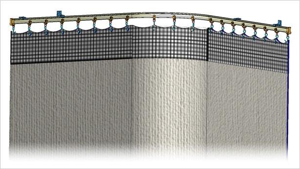 Cubicle Curtain Tracks